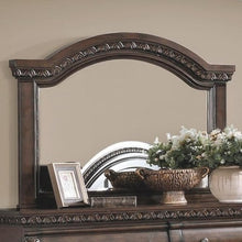 Load image into Gallery viewer, Satterfield Mirror in Warm Bourbon Finish