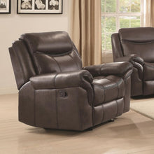 Load image into Gallery viewer, Sawyer Motion Plush Glider Recliner with Contrast Piping