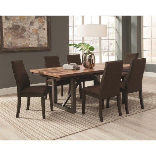 Spring Creek 7 Piece Table and Side Chairs Set