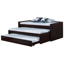 Load image into Gallery viewer, Triple Daybed Triple Layer Daybed with Two Trundles
