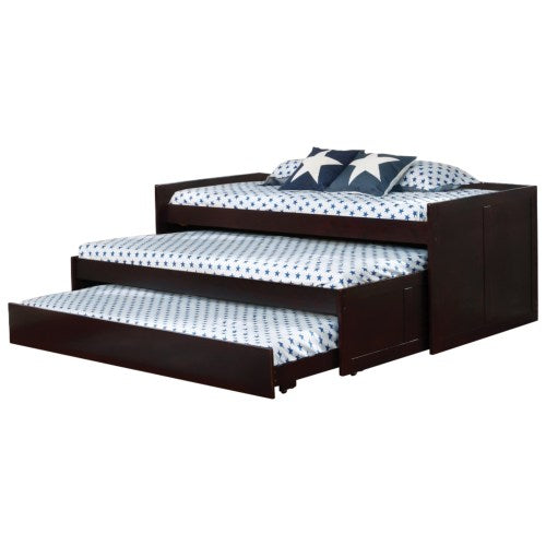 Triple Daybed Triple Layer Daybed with Two Trundles