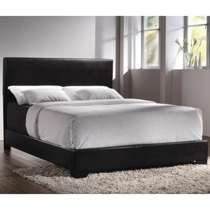 Upholstered Beds Contemporary California King Upholstered Low-Profile Bed