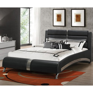 Queen Jeremaine Upholstered Bed Only 300350-COA