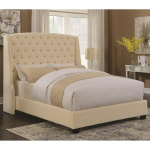 Upholstered Beds Pissarro Wingback Upholstered Queen Bed