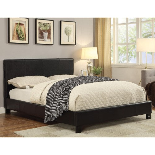 Upholstered Beds Upholstered Full Bed with Bluetooth Speakers