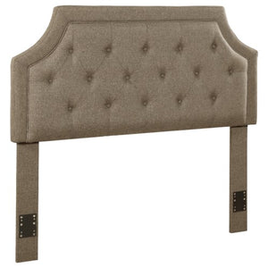 Upholstered Beds Upholstered Full/Queen Headboard with Button Tufting