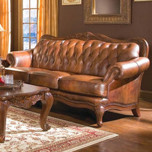 Load image into Gallery viewer, Victoria Classic Rolled Arm Sofa