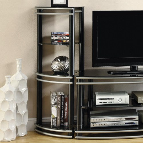 Entertainment Units Set of 2 Corner Media Towers