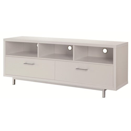 Entertainment Units Low TV Console w/ Metal Base 701972