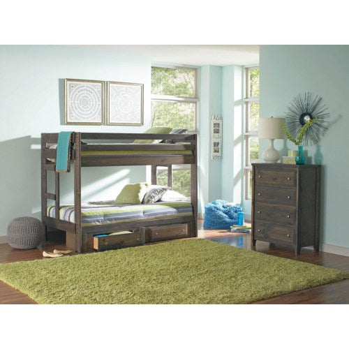 Twin over Twin Bunkbed 400831 cst