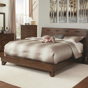 Yorkshire Rustic California King Bed with Contemporary Design