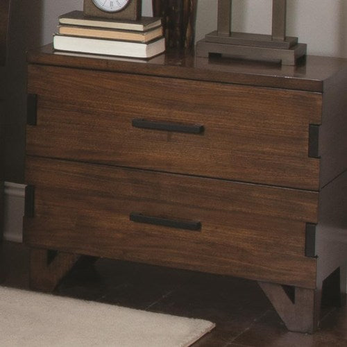 Yorkshire Nightstand with Charging Access