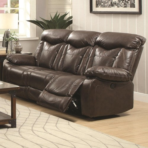 Zimmerman Power Reclining Sofa with Pillow Arms