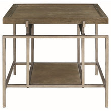 Load image into Gallery viewer, 72143 Contemporary End Table with Geometric Frame