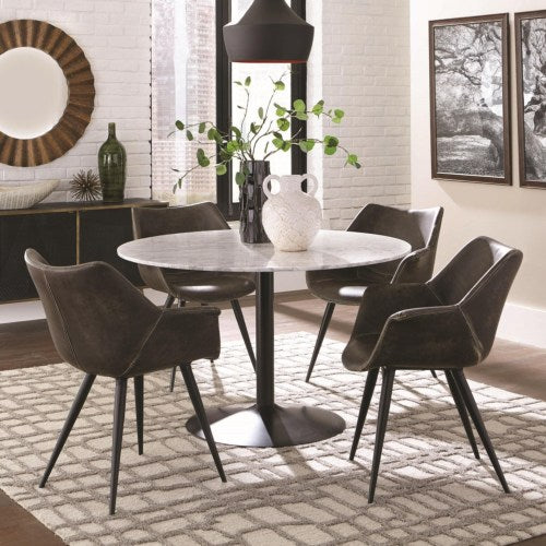 Bartole Eclectic Round Table and Chair Set
