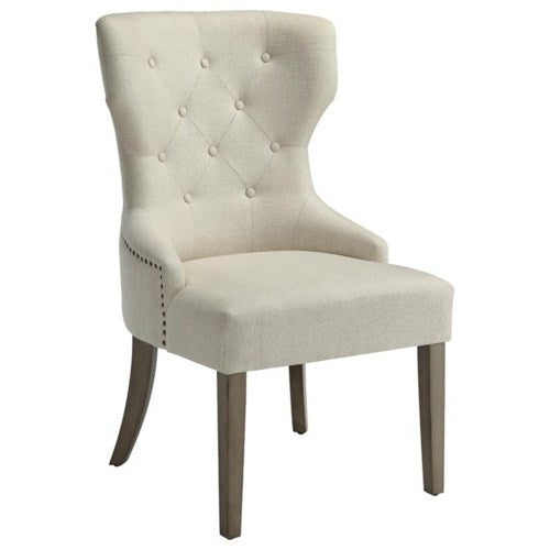 Florence Upholstered Dining Chair with Tufted Back