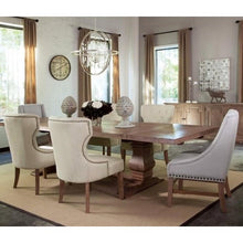 Load image into Gallery viewer, Florence Rectangular Table and Upholstered Chair Set