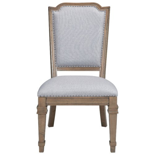 Florence Upholstered Dining Chair with Tack Trim