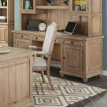 Load image into Gallery viewer, Florence Kneehole Credenza with Rustic Finish