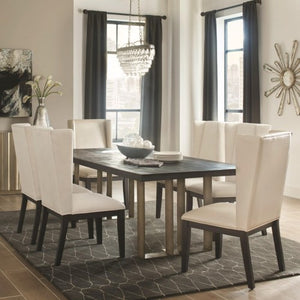 Friedman Modern Dining Table and Chair Set
