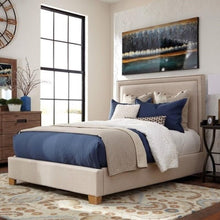 Load image into Gallery viewer, Madeleine II Upholstered King Bed