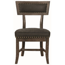 Load image into Gallery viewer, Mayberry Rustic Dining Chair with Nailhead Trim