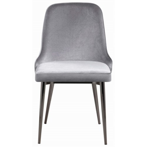 10795 Upholstered Dining Chair with Tapering Legs