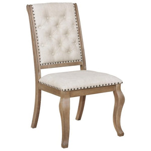 Glen Cove Dining Chair with Button Tufting and Nailhead Trim