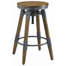 Load image into Gallery viewer, Hornell Rustic Adjustable Bar Stool