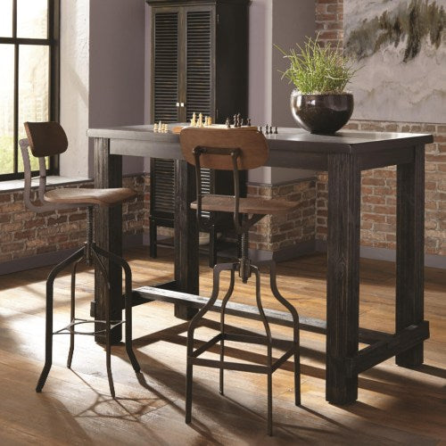 Jacinto Industrial Table and Chair Set