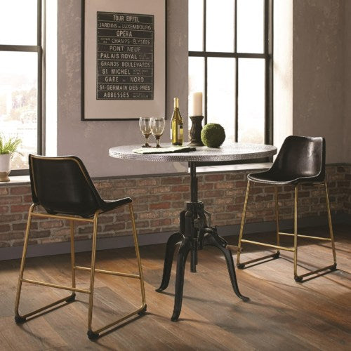Rhea Industrial Table and Chair Set