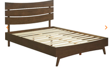 Load image into Gallery viewer, QUEEN BED FRAME MOD-5833-WAL