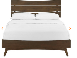 QUEEN BED FRAME MOD-5833-WAL