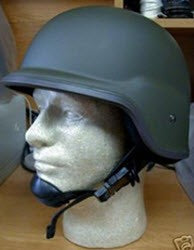 OD KEVLAR TYPE HELMET NEW CONDITION