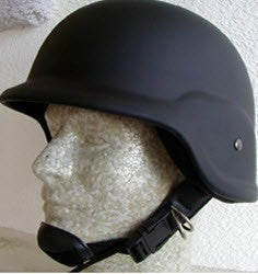 MILITARY STYLE KEVLAR TYPE COMBAT HELMETS