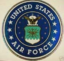 U.S.A.F. DECAL LARGE