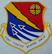 USAF FIGHTER WEAPONS DECAL 3 INCH