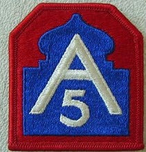 5TH ARMY PATCH