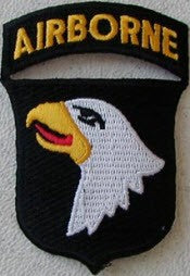 101ST AIRBORNE INFANTRY DIVISION PATCH