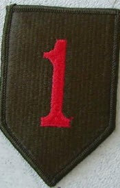 1ST BIG RED ONE INFANTRY DIVISION PATCH