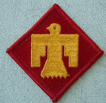 45TH THUNDERBIRD INFANTRY DIVISION PATCH