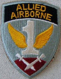 WW II ALLIED AIRBORNE SHOULDER PATCH