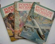 WW II POPULAR MECHANICS MAGAZINES