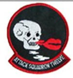 ATTACK SQUADRON 12 PATCH