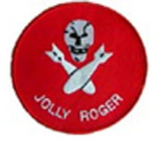 JOLLY ROGERS NAVAL SQUADRON PATCH
