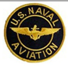 US NAVAL AVIATION BREAST JACKET PATCH