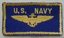 US NAVAL AVIATOR FLIGHT SUIT WINGS