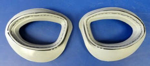 B-7/AN-6530 GOGGLE TWO PIECE FACE CUSHIONS-READY TO INSTALL