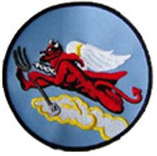 WW II TUSKEGEE ALL BLACK FIGHTER SQUADRON PATCH - 302ND FS