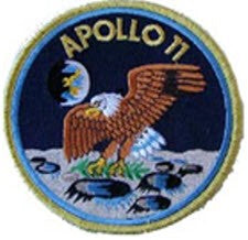 APOLLO 11 FIRST LUNAR LANDING PATCH